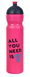 Zdravá lahev - UAX All You Need - růžová 1 l