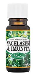 100% přírodní směs EO Nachlazení & Imunita 10 ml