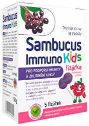 Sambucus Immuno Kids lízanky 5 ks
