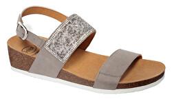 Zdravotná obuv-CECILIA SAND MicroStrass-W - Grey
