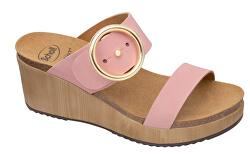 Zdravotná obuv - MALIBU`WEDGE Nub-W - Pale Pink