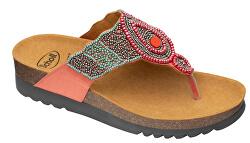 Zdravotná obuv - PANAMA`SatinBds-W - Coral / Multi