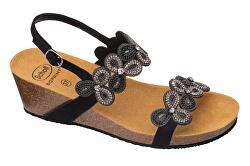 Zdravotná obuv - SCARLETT MicroStrass-W Black