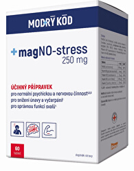 magNO-stress 250 mg Modrý kód 60 tbl.