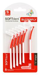 Butterfly Mezizubní kartáček zahnutý 0,5 mm