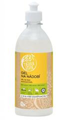 Gel na nádobí s BIO citronovou silicí lahev 500 ml