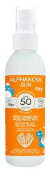SUN opalovací krém sprej dětský v recyklovatelném obalu SPF 50 BIO 125 g