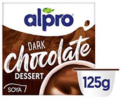 Sójový dezert s příchutí hořké čokolády 4 x 125 g