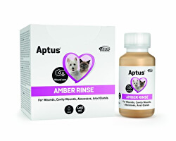 AMBER RINSE 4 x 60 ml
