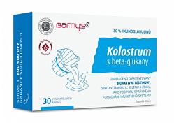 Kolostrum s beta-glukány 30 kapslí
