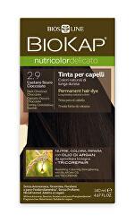NUTRICOLOR DELICATO - Barva na vlasy - 2.90 Kaštanovo čokoládová tmavá 140 ml