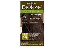NUTRICOLOR DELICATO - Barva na vlasy - 4.00 Hnědá přirozená 140 ml