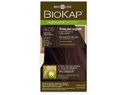 NUTRICOLOR DELICATO - Barva na vlasy - 4.05 Kaštanovo čokoládová 140 ml
