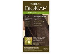 NUTRICOLOR DELICATO - Barva na vlasy - 5.0 Kaštanová přírodní světlá 140 ml