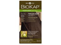 NUTRICOLOR DELICATO - Barva na vlasy - 5.05 Hnědá - světlý kaštan 140 ml