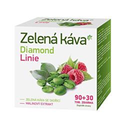 ZELENÁ KÁVA DIAMOND LINIE 90 + 30 tobolek zdarma
