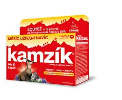 Kamzík 60 +30 kapslí 2021 ČR