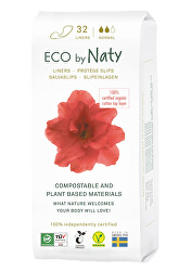 Dámské slipové vložky ECO by Naty - normal (32 ks)