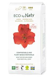 Dámské slipové vložky ECO by Naty - super (28 ks)