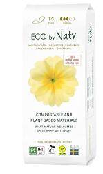 Dámske vložky ECO by Naty - normal 14 ks