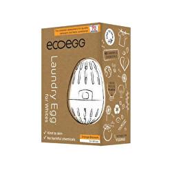 Prací vajíčko na bílé prádlo na 70 praní - pomeranč