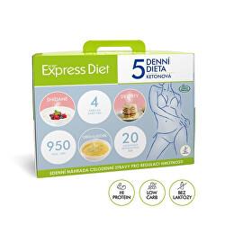 5denní proteinová ketonová dieta na hubnutí Express Diet 20×59 g – nová receptura bez laktózy