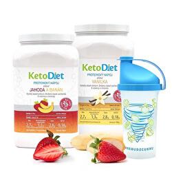 2 týdenní proteinové nápoje BASIC 1. krok