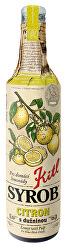Syrob Citron s dužinou 500 ml