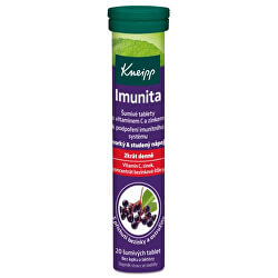 Šumivé tablety Imunita 20 tablet