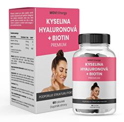 Kyselina hyaluronová + Biotin PREMIUM 60 tobolek