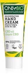 Regenerační krém na ruce s konopím a CBD olejem 75 ml