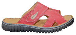 Červené nazúvacie topánky