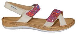 Krémové sandále so zvýšeným zdravotným účinkom
