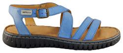 Modré sandále