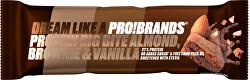 PROTEIN BIG BITE 45 g - mandlové brownie s vanilkou