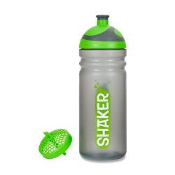 Zdravá fľaša SHAKER zelený 0,7 l