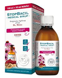 StopBacil Medical sirup Dr. Weiss 100 ml + 50 ml ZADARMO