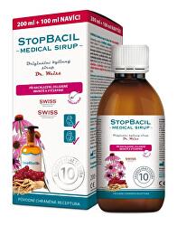 StopBacil Medical sirup Dr. Weiss 200 ml + 100 ml ZADARMO