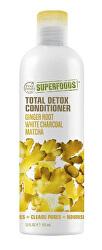 Total Detox kondicionér - zázvor, matcha a bílý charcoal 355 ml
