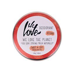 """Přírodní krémový deodorant """"Sweet & Soft"""" 48 g"""