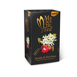 Majestic Tea Acerola & kvet Bezu 20 x 2,5 g
