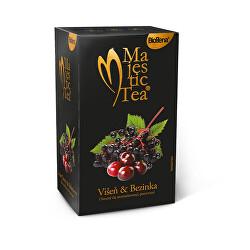 Majestic Tea Višňa & Bezinka 20 x 2,5 g