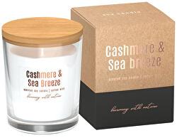 Sójová NATUR sviečka 130 g cashmere, sea breeze