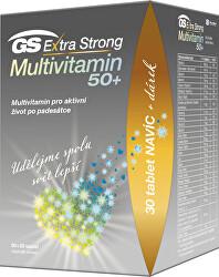 GS Extra Strong Multivitamín 50+ 90 + 30 tablet DARČEK 2021