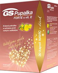 GS Pupalka Forte s vit.E 70 + 30 kapslí DARČEK 2021