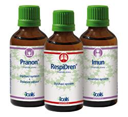 Kúra Imunita podzim – Pranon + RespiDren + Imun