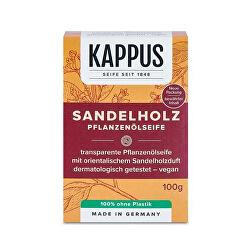 Toaletní mýdlo 100 g Santalové dřevo