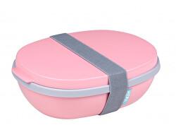 Jedálenský box Ellipse Duo Nordic Pink
