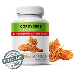 Cordyceps 50% 90 kapslí