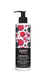 Sprchový gel granátové jablko & lesní plody s pumpičkou